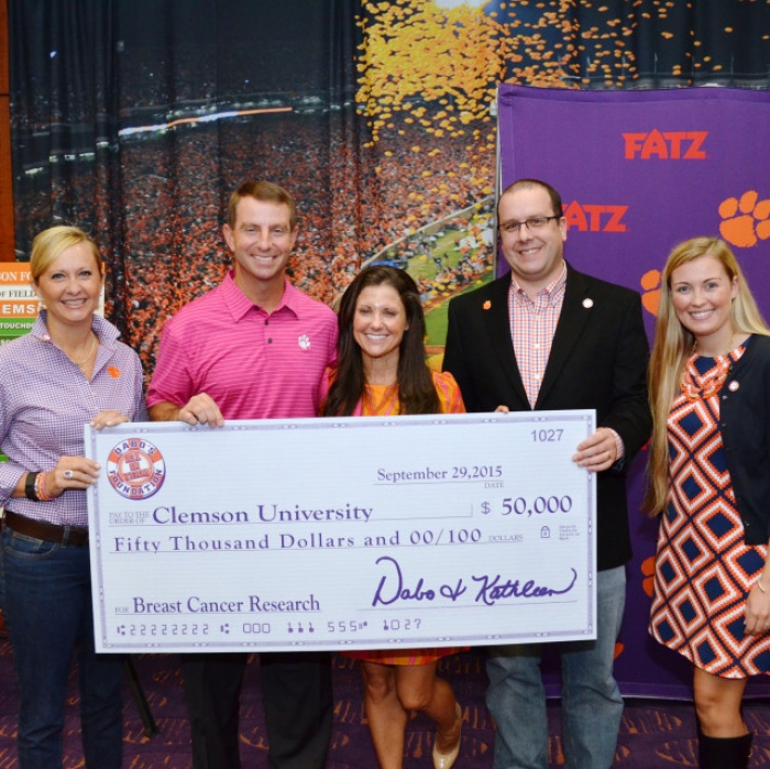 Clemson Athletics Supports Breast Cancer Awareness Month