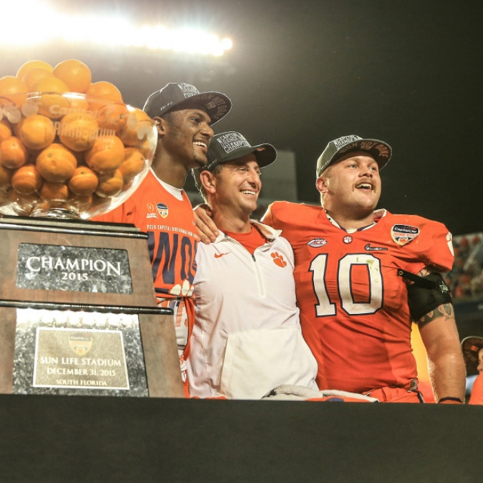 Clemson Remains in Top Four of CFP