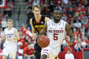 Wolfpack Beat The Terps 65 - 56