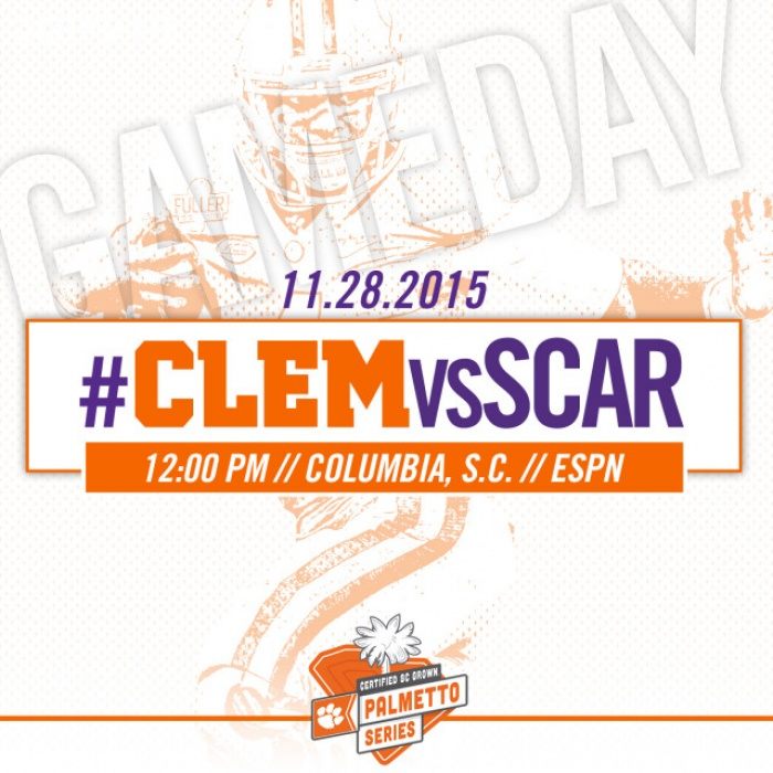 #CLEMvsSCAR Gameday Guide