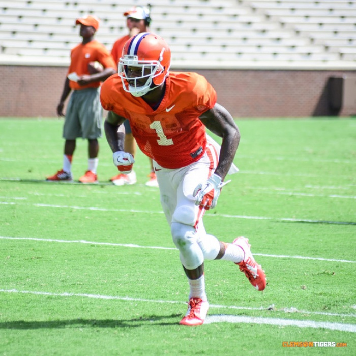 Clemson Holds First Spring Scrimmage
