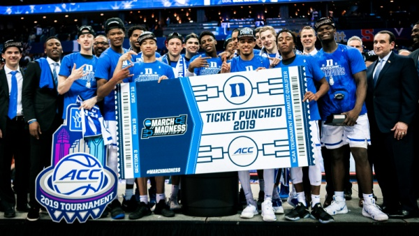 Duke Earns No. 1 Overall Seed in NCAA Tournament