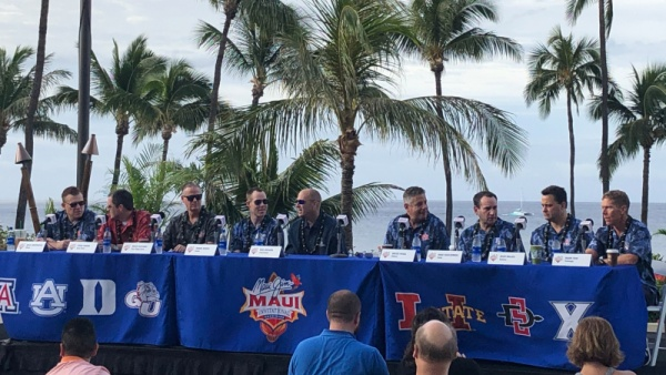 Coach K Meets Media on Eve of Maui Invitational