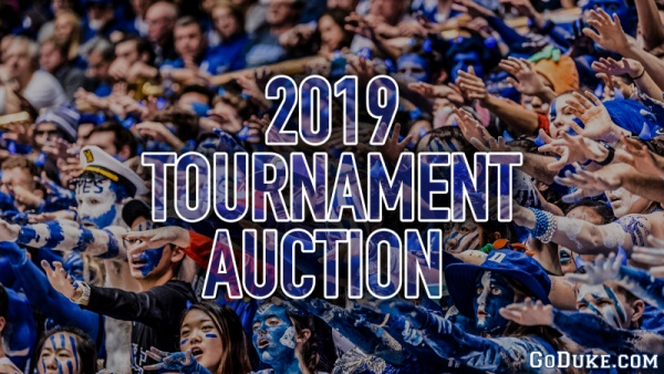 GoDuke.com Launches 2019 Tournament Auction
