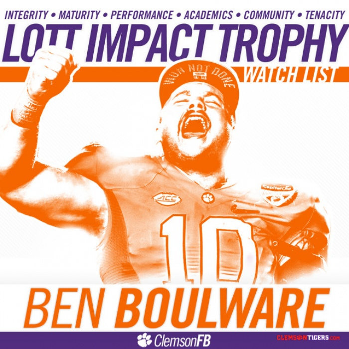 Bowlware Named to Lott Impact Watch List