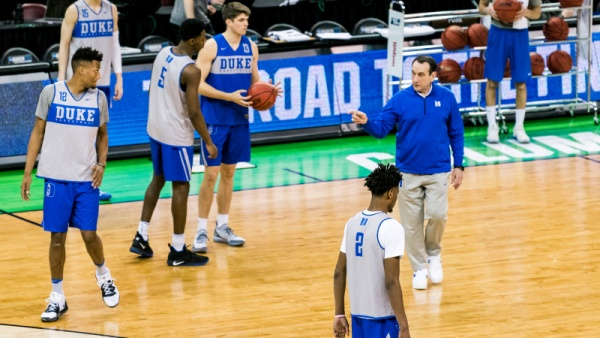 Duke Preps for UCF with Practice, Media Day in Columbia
