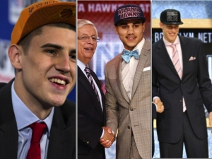 Three of the four ACC players selected in this year's draft