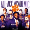Wilkins Heads 7 Tigers Named Academic All-ACC