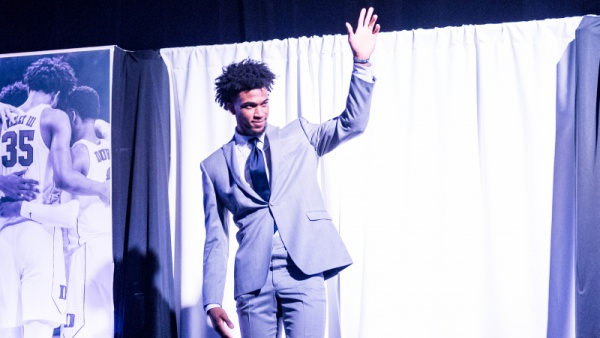 Blue Devils Hold Annual Banquet; Bagley Named MVP