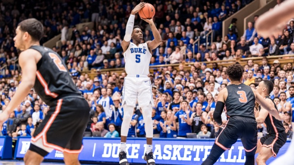No. 2 Duke Runs Past Princeton, 101-50