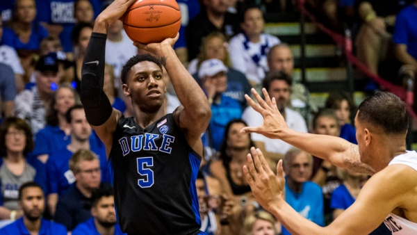 RJ Barrett Declares for 2019 NBA Draft