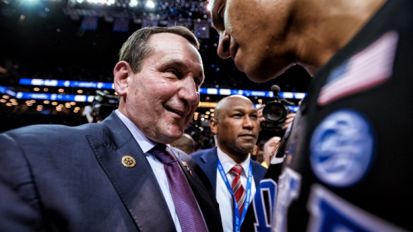 NBA Draft Night: Coach K on Emotions Experienced