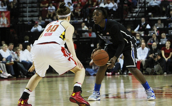 Lady Terps Can't Hold Home Court
