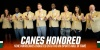 Nine Hurricanes Inducted Into UM Sports Hall of Fame