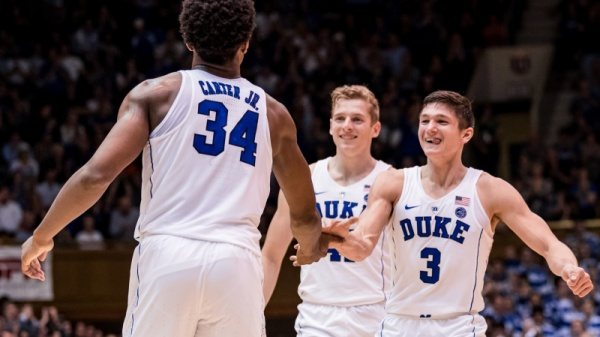 Allen, No. 5 Duke rout Louisville 82-56