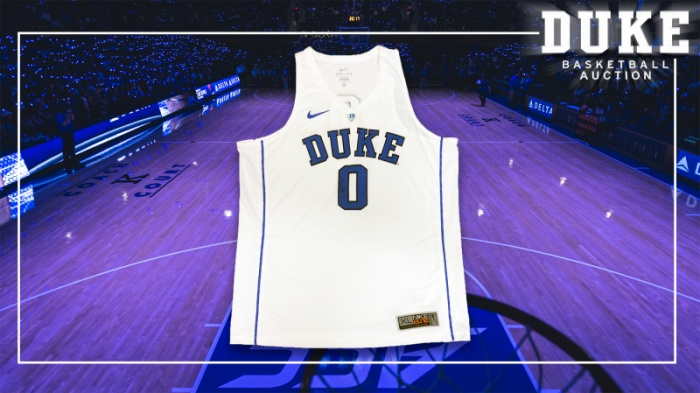 Featured Auction Item: Jayson Tatum Signed Jersey