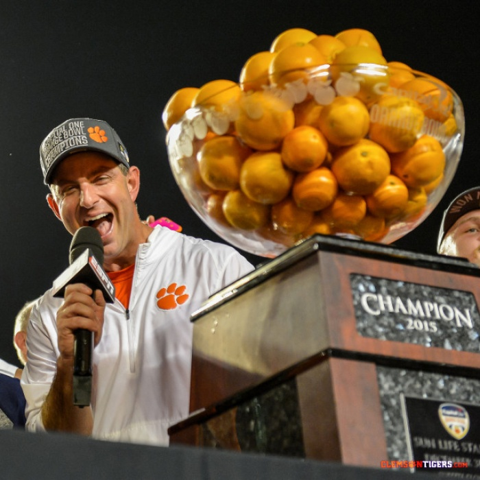 Clemson's Five-Year Run