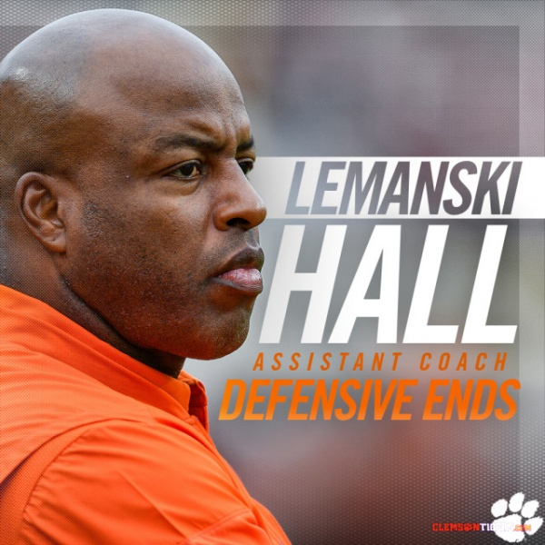 Hall Named Clemson Assistant Coach