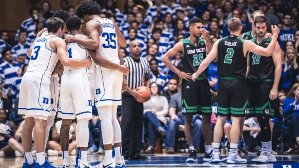 No. 1 Duke to Face Southern on Friday Night