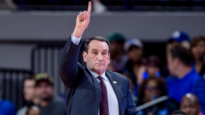 Coach K Among Finalists for Naismith Coach of the Year