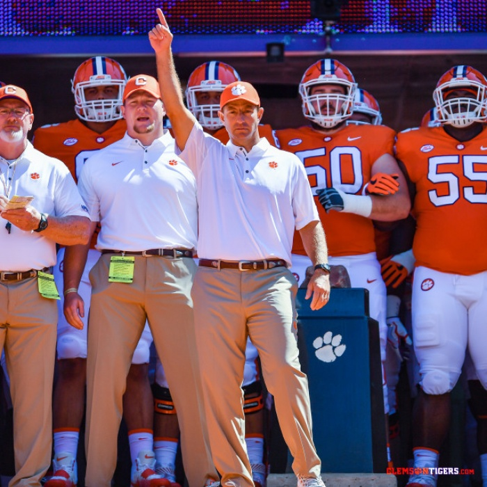 Clemson Fourth in First College Football Playoff Poll
