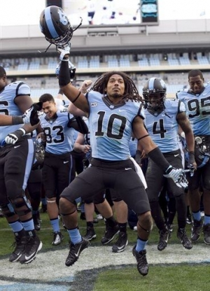 North Carolina Throttled Virginia 45 -14