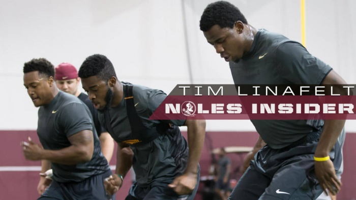 Noles Develop Physical, Mental Toughness At Fourth Quarter Drills