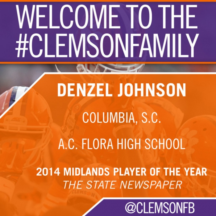 Tigers Sign Denzel Johnson