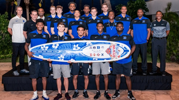 No. 1 Duke Opens Maui Invitational Monday