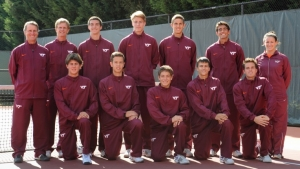 Virginia Tech Men's Tennis Team to open NCAA Championship