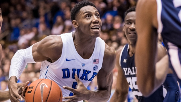 RJ Barrett Sweeps ACC Weekly Honors