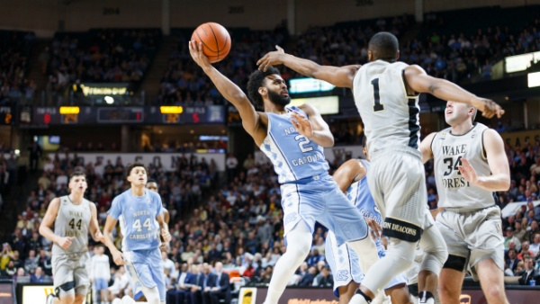 Tar Heels Hold On To Beat Wake Forest, 93-87