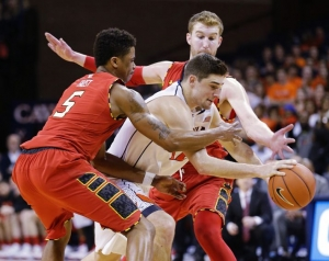 The Terps played pretty good defense for most of the game, but it wasn't enough to upset the Cavs on the road.