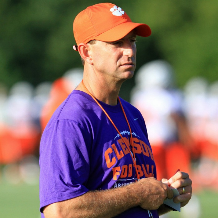 Clemson Opened Spring Practice Monday