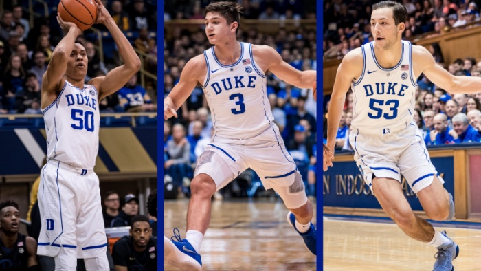 Allen, Robinson, Besser Named to NABC Honors Court
