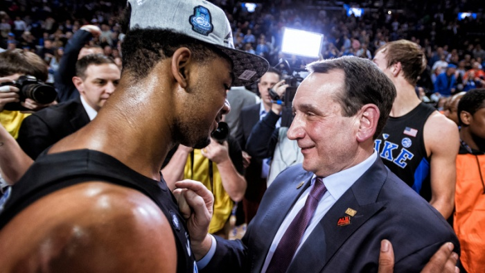 "Coach K Guests on Season Debut of ""The Offseason"""