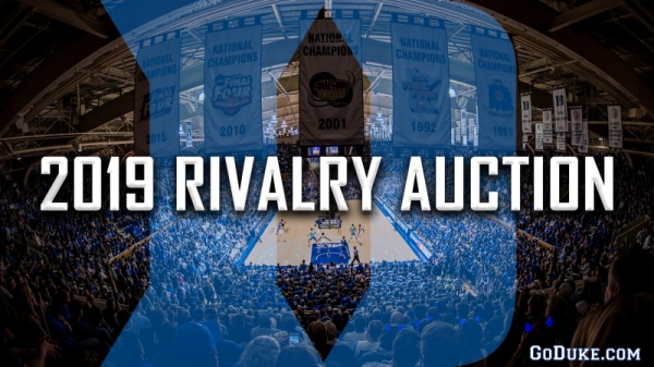 GoDuke.com Launches 2019 Rivalry Auction