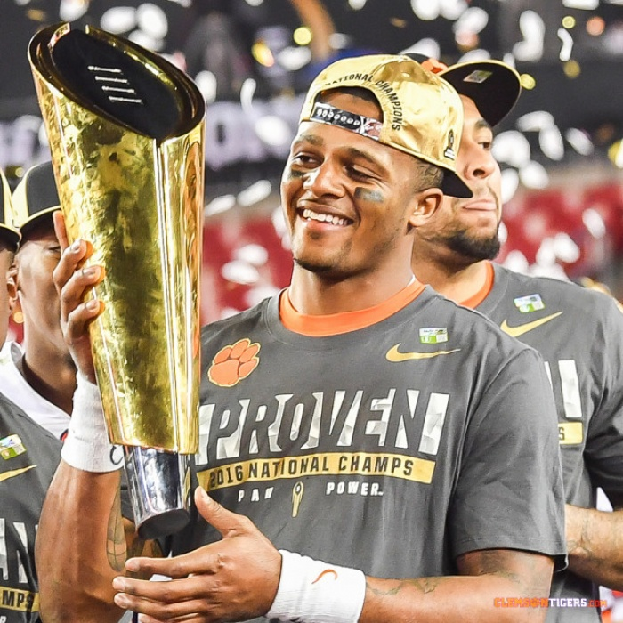 Clemson Football Nominated for Four ESPY Awards