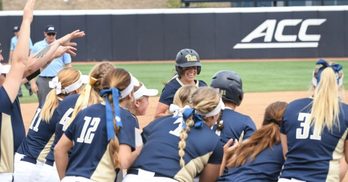 Pitt softball pulls out incredible 6-4 win over Virginia Tech in ACC Tournament opener