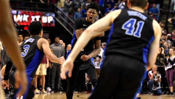 No. 1 Duke Stuns Seminoles on Late Reddish 3-Pointer