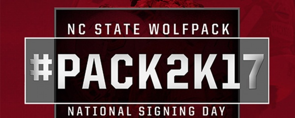 Celebrate National Signing Day with the Wolfpack