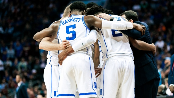 Top-Seeded Duke Opens NCAA Tournament Friday Night