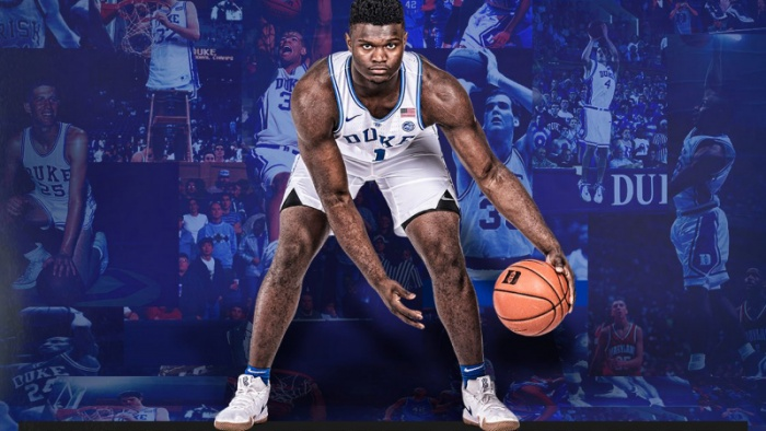 Zion Named Sporting News National Player of the Year