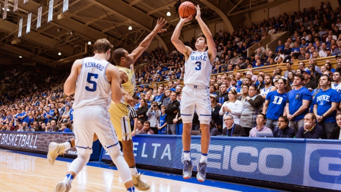 No. 8 Duke Routs Georgia Tech 110-57