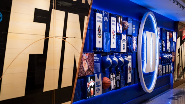 Duke Unveils CRAZIES WALL at Cameron Indoor Stadium