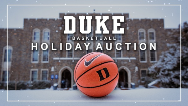 GoDuke.com Continues 2018 Basketball Holiday Auction