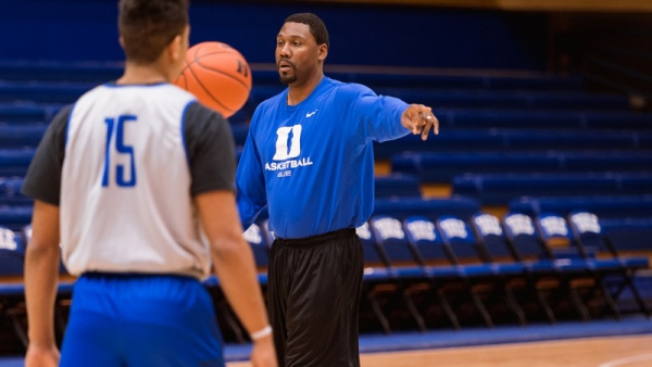 Coach K Discusses James' Ability to Instruct Players