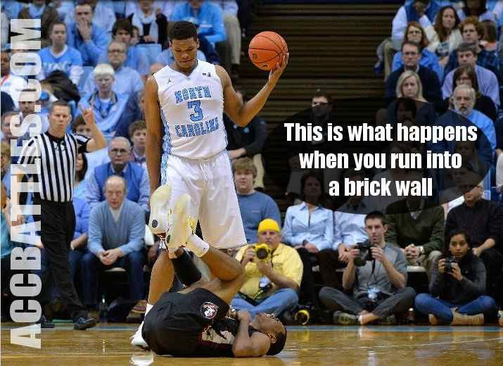 This is what happens when you run into a brick wall. Kennedy Meeks