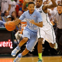 freshman Nate Britt helped the Tar Heels to a victory over #1 ranked Michigan State.