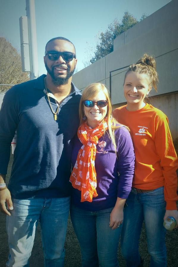 Tajh Boyd In the building enjoying the day with some fans